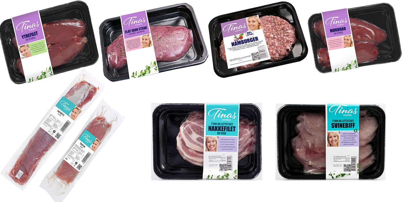 Tinas sommer 2016: Rødt kjøtt og svinekjøtt
