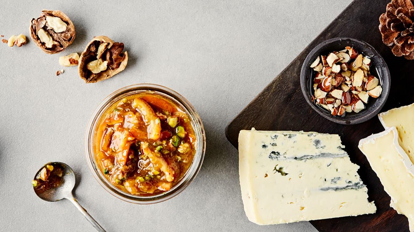 Litt ost er den perfekte avslutningen på måltidet.