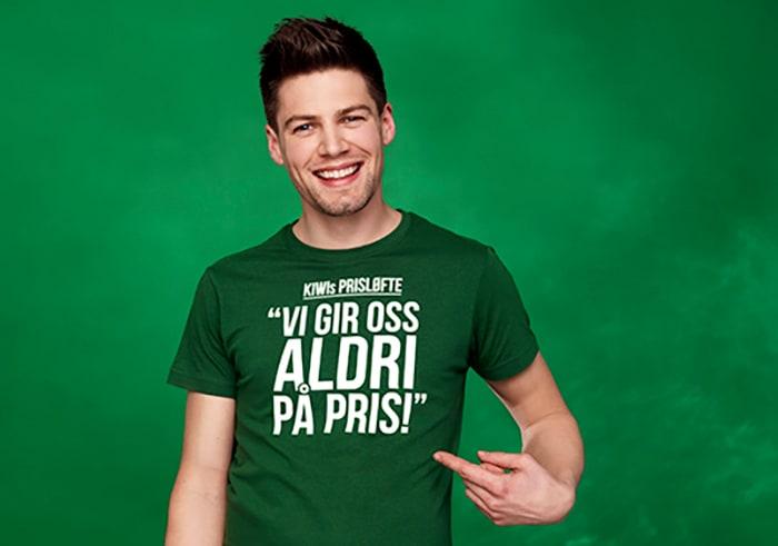 Butikksjef Pål Kiese-Eriksen fra KIWI Råde i Østfold.