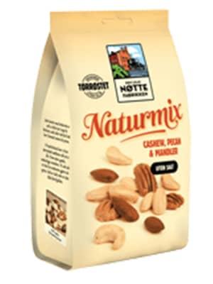 En blanding av naturlige nøttekjerner – perfekt som sunnere snacks og som ingrediens til matretter.