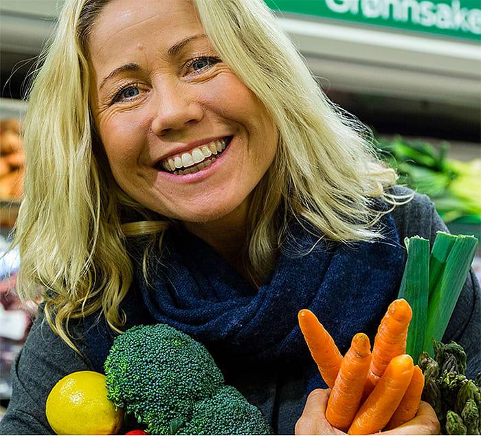 Bruk urter i stedet for salt, sier Tine Sundfør.