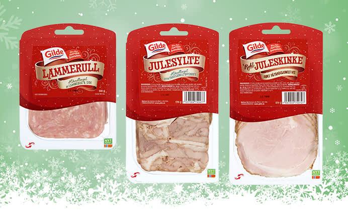 Lammerull, sylte og juleskinke er klassikere på mange av julens frokoster og brunsjer.