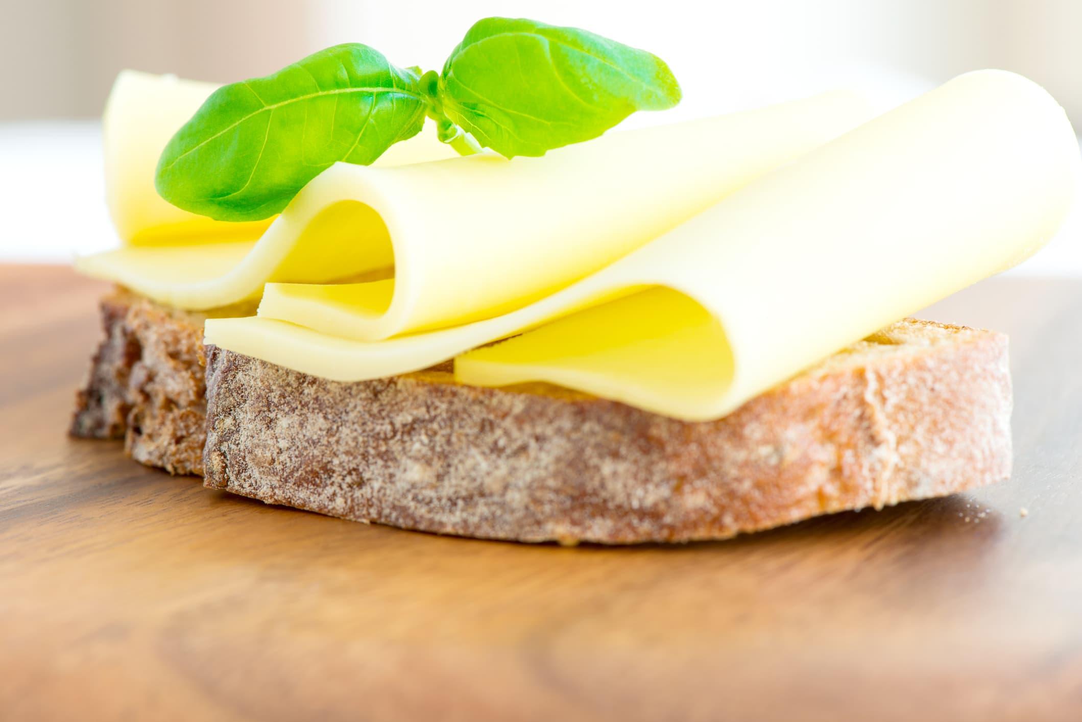 Brødskive med ost