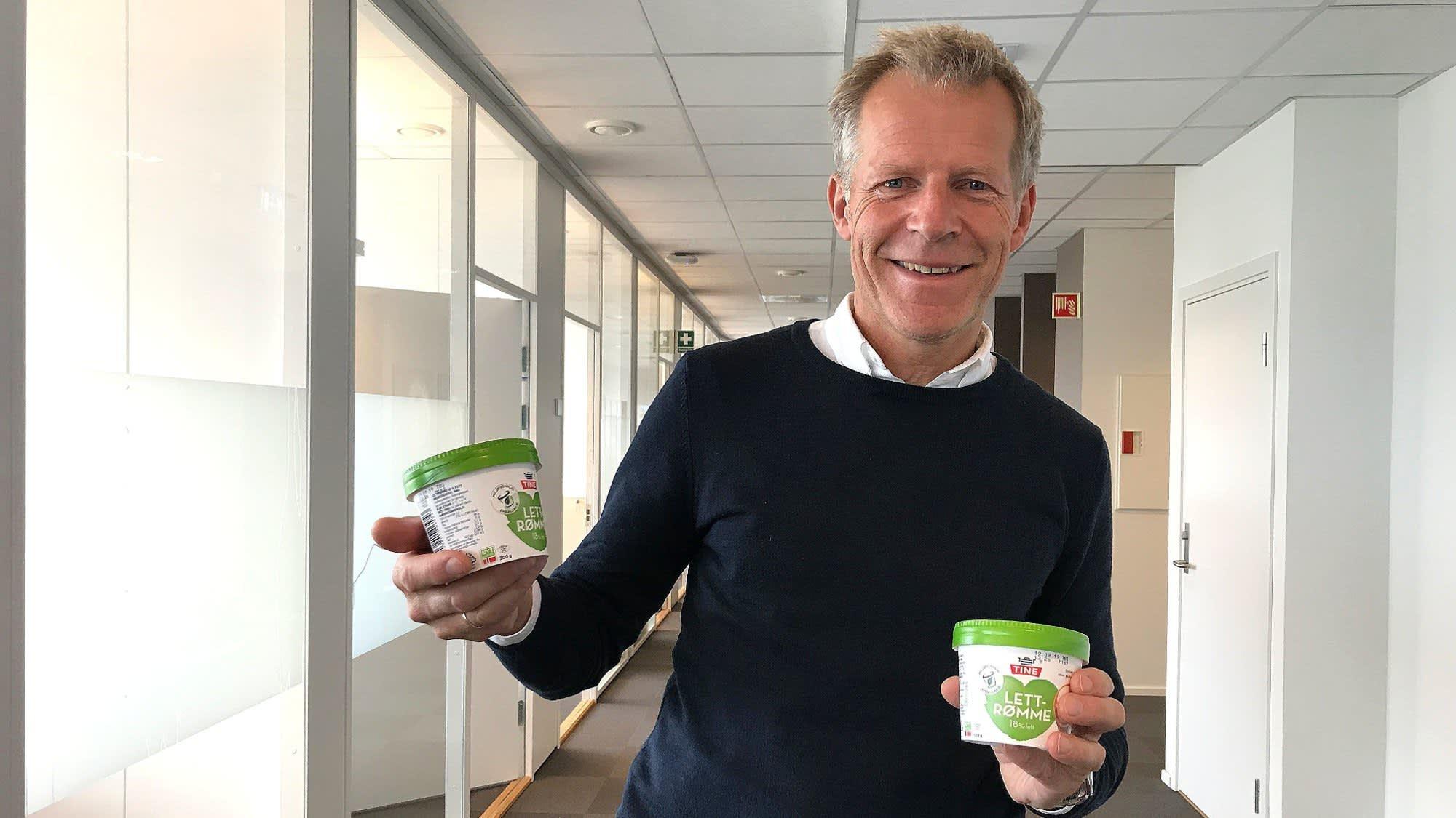 Bærekraftsjef Bjørn Malm i TINE. Foto: TINE