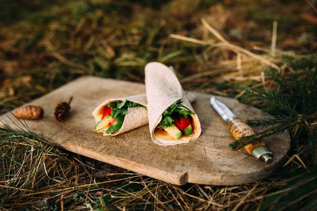 Fyll wraps med det pålegget du liker best, og du har en sunn og god lunsj på tur