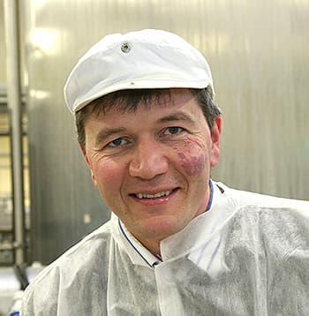 Trond Vilhelm Lund i Rørosmeieriene.