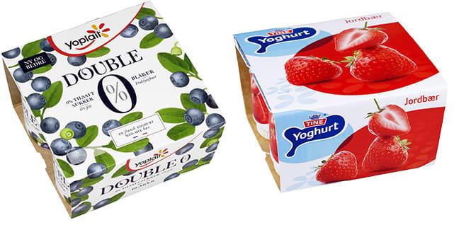Fruktyoghurter som har kommet godt ut i ulike ernæringstester.