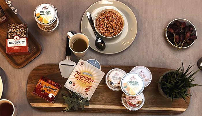 Både Synnøve Guldbrand og Synnøve Gulost ble vurdert av de internasjonale kokkene.