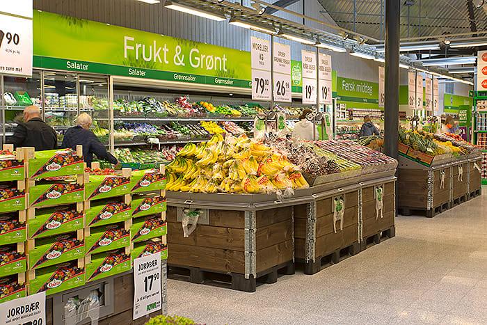 Nye KIWI Hemsedal har et salgsareal på 1400 kvm og sto ferdig i 2014.