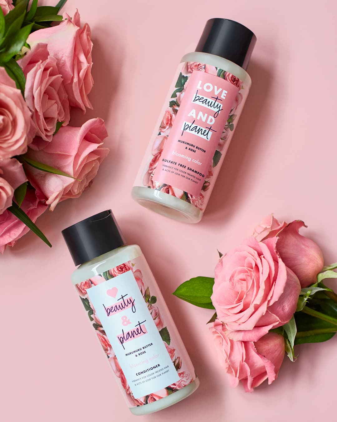 Love Beauty and Planet sjampo og balsam