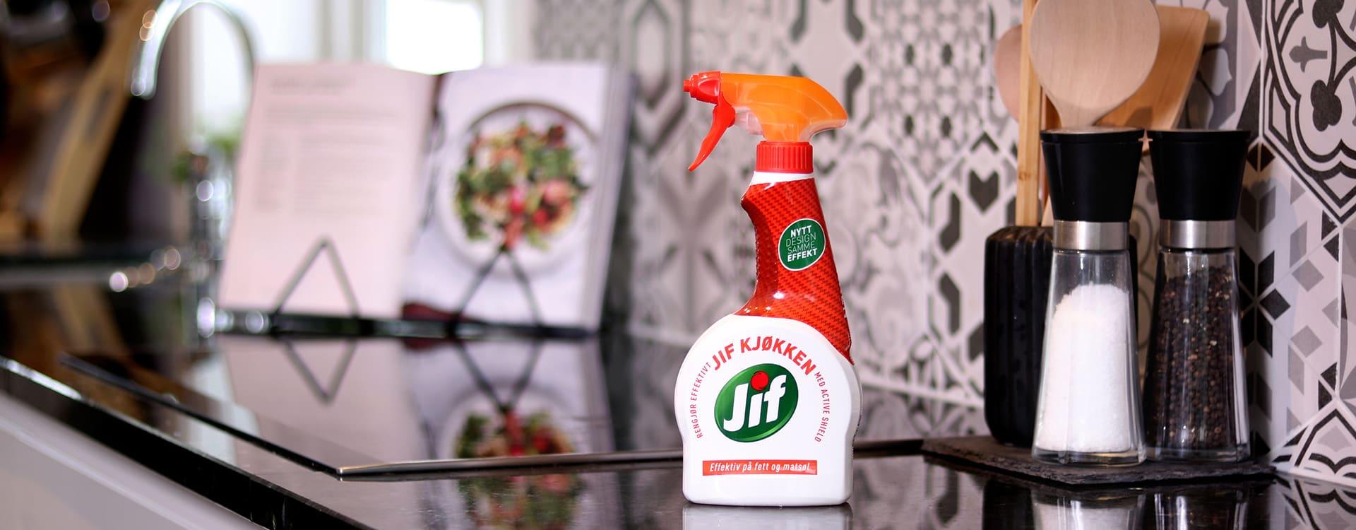 Jif relansert Jif Universal, Jif Kjøkken og Jif Baderom uten unødvendige ingredienser.