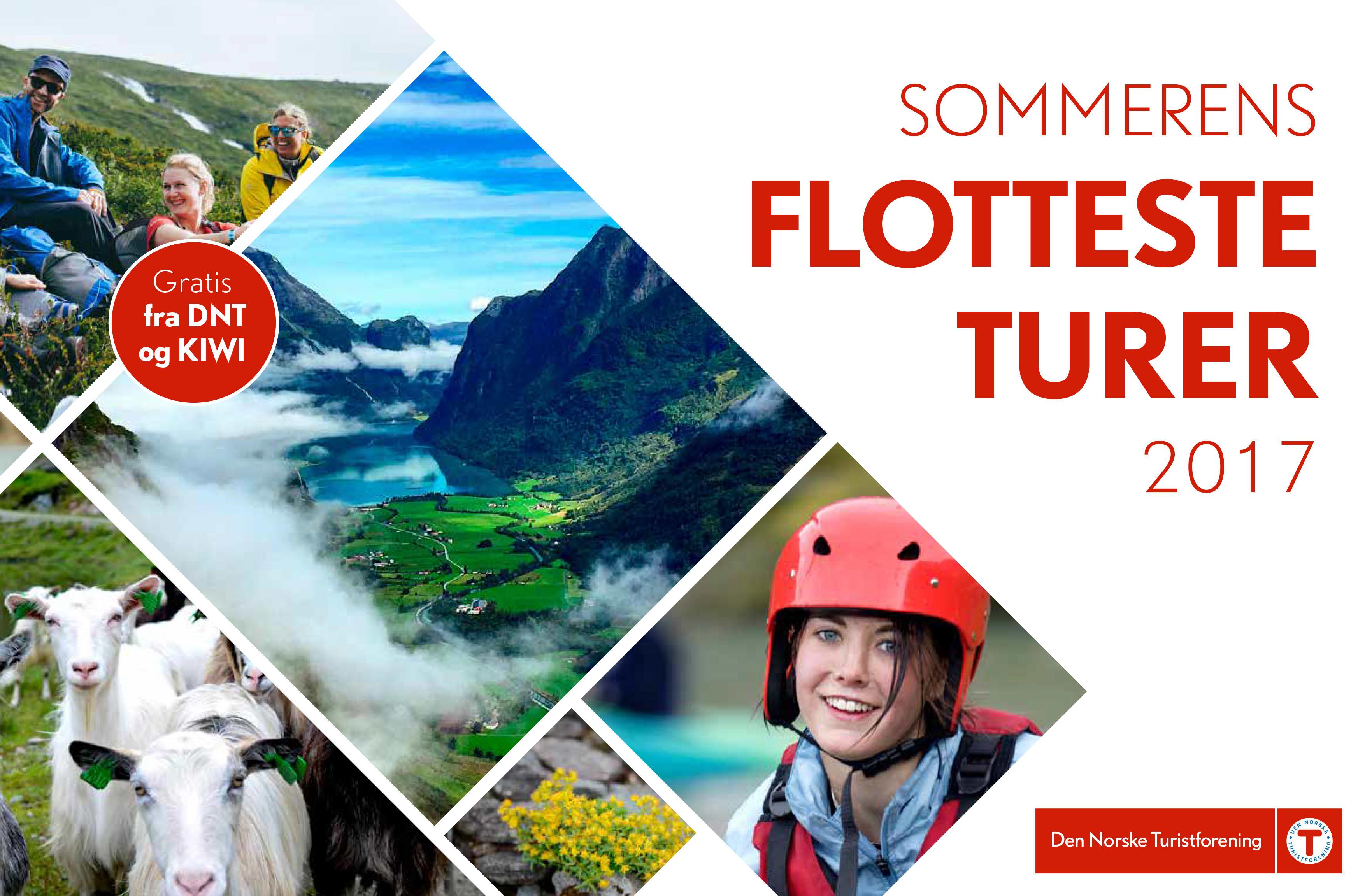 Ta med deg katalogen hjem neste gang du handler på KIWI for en oversikt over sommerens fineste turer.
