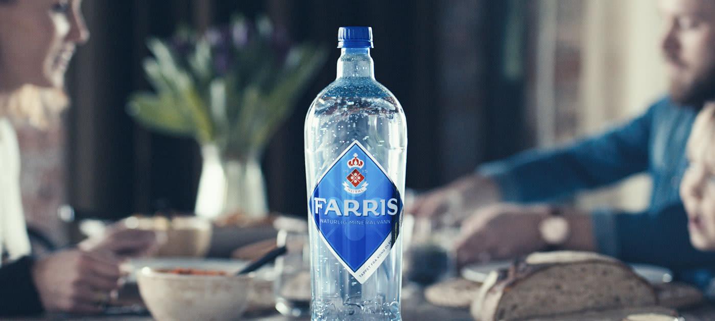 Mineralvannet fra Farris-kildene i Larvik har blitt tappet på flasker i over 100 år.