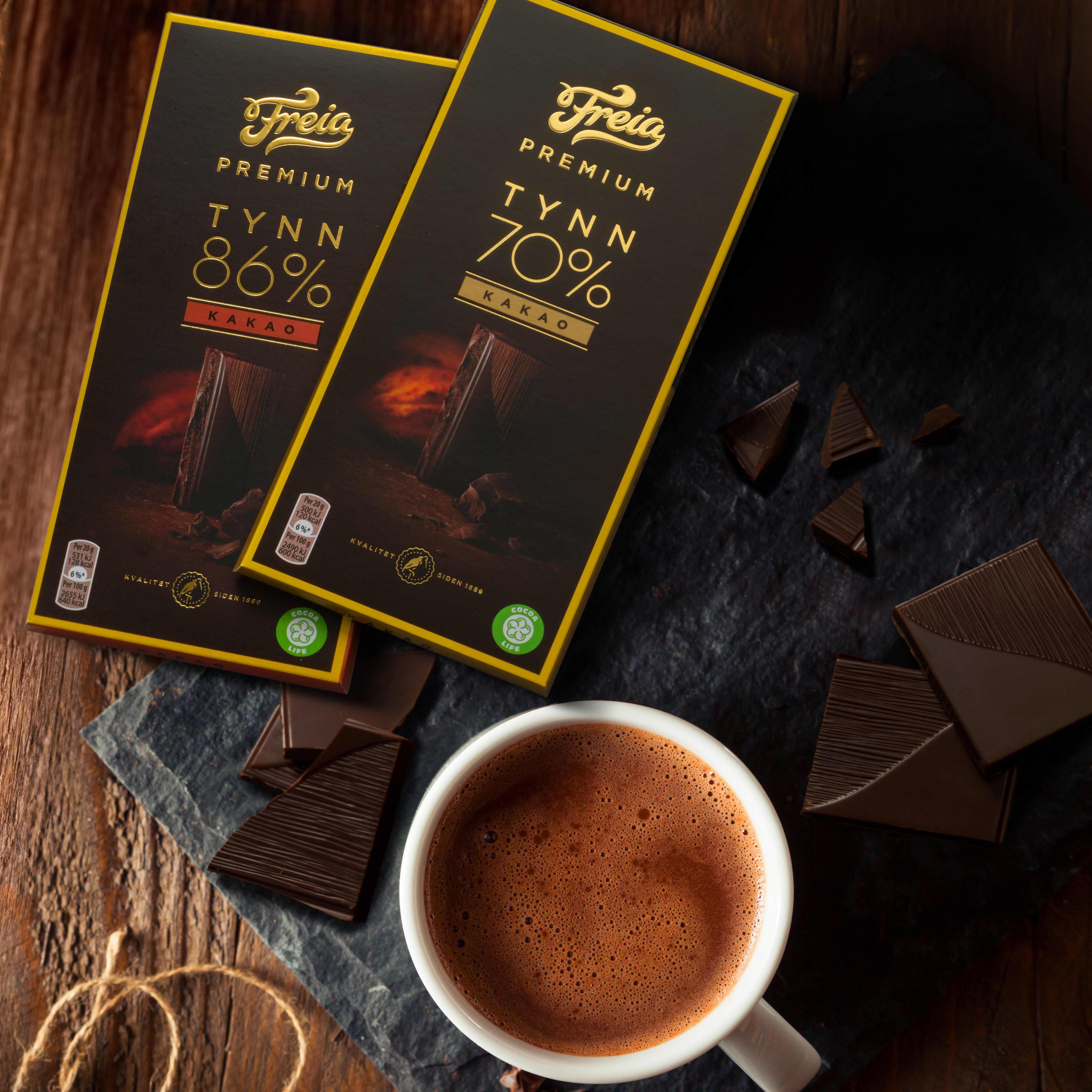 Freia Premium Mørk sjokolade