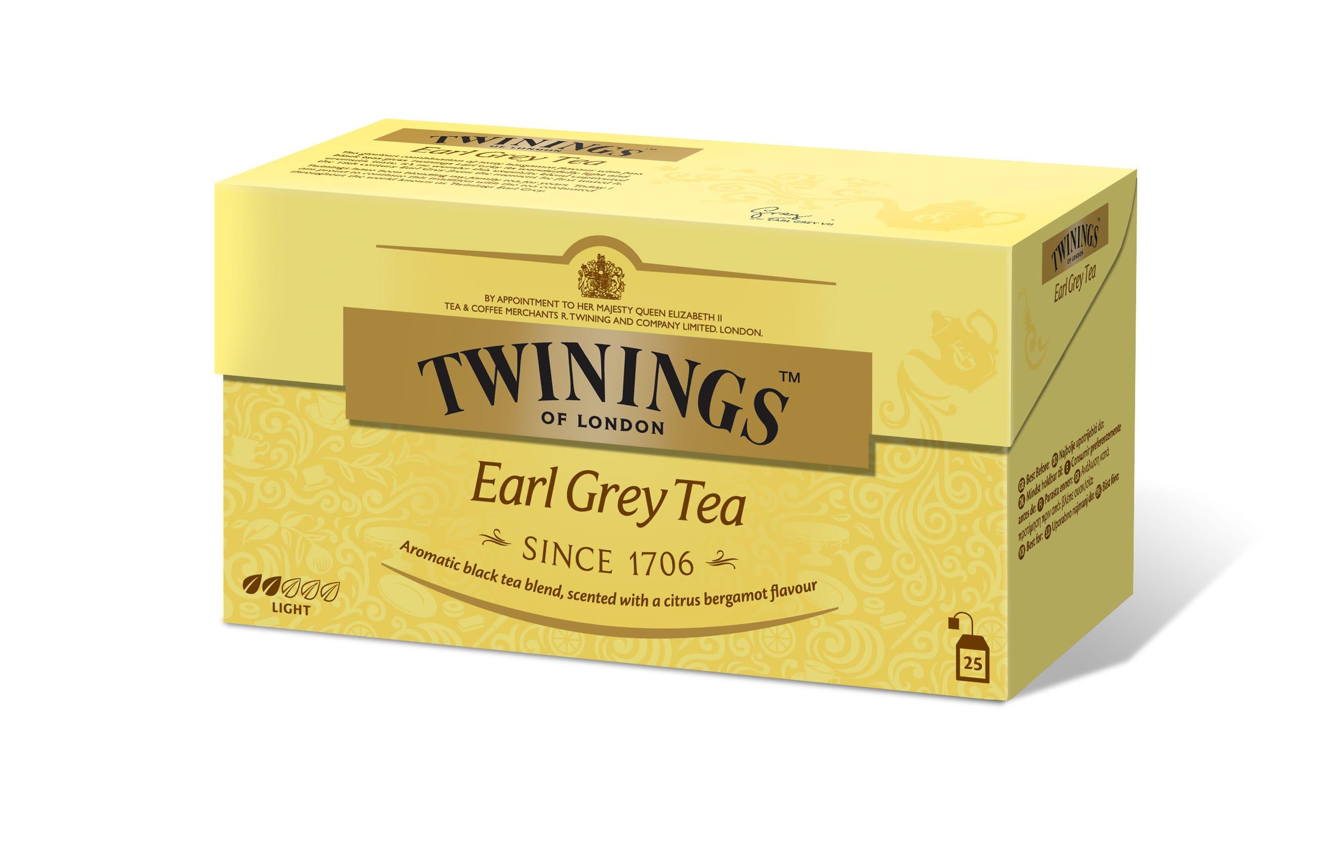 Twinings Earl Grey er blant Norges mest populære teer.