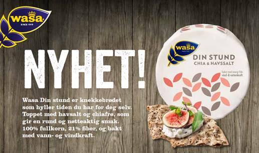 Din Stund med chiafrø og havsalt er en nyhet i alle KIWIs butikker fra september 2018.