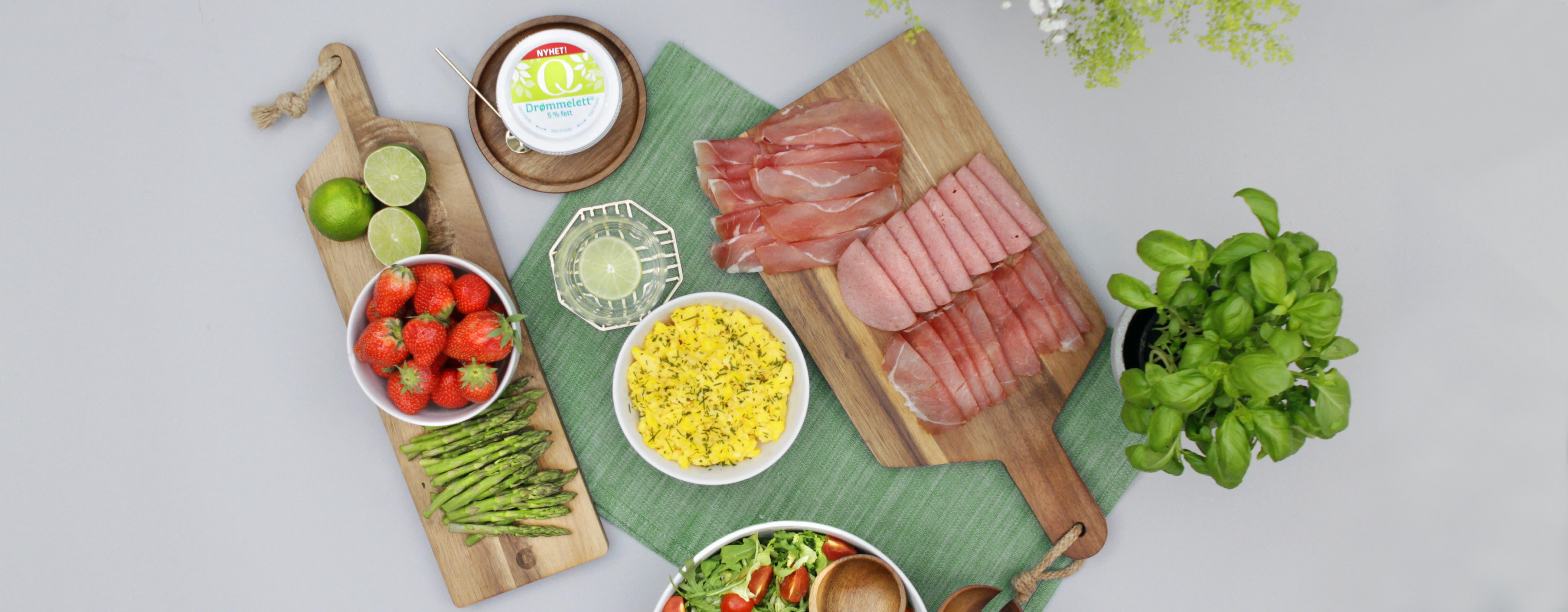LITT SUNNERE: Gjør spekebordet litt sunnere med produkter som inneholder litt mindre fett og litt mindre salt.