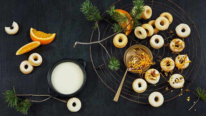 Hvorfor ikke la hjemmelagde donuts være den 8. julekaken? Foto: Aina C. Hole/Sporenstrek