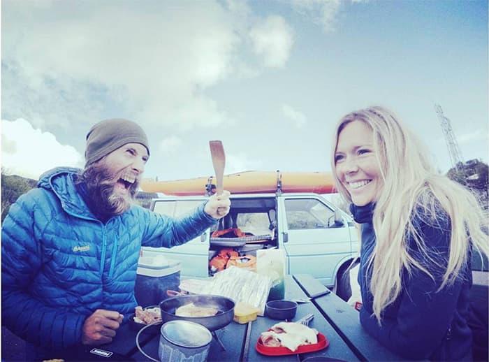 """""""Smiiil, så får vi eit superfint bilete av nomade-frukosten!"""" FOTO: @lisbethjb"""