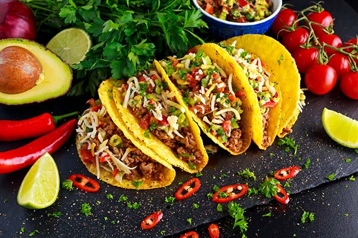 Taco hver fredag trenger ikke bety det samme hver fredag. Prøv med én ny ingrediens innimellom – liker du det ikke, prøver du noe nytt neste gang.