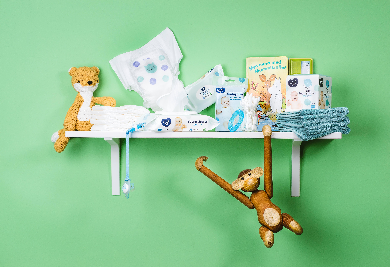 GAVETIPS: Stelleprodukter fra LilleGo' vil de nybakte foreldrene alltid få bruk for