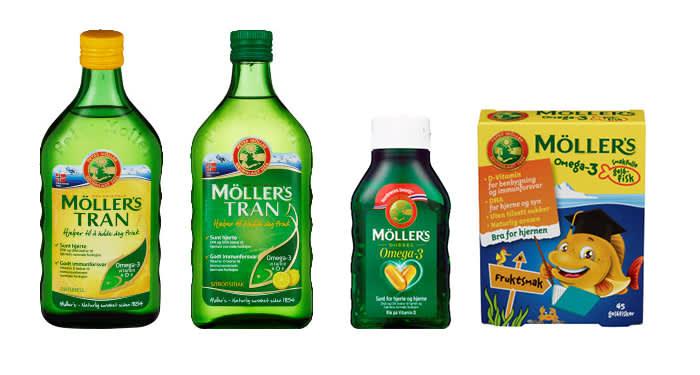 Hos KIWI finner du mange ulike tran-produkter i forskjellige former og smaker som gjør det enkelt å få i seg den anbefalte dagsdosen av omega-3. Alle inneholder de viktige omega-3-fettsyrene EPA og DHA
