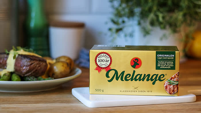 Klassisk Melange passer veldig godt til gjærbakst og luftige kaker, i tillegg til steking. Foto: Mills