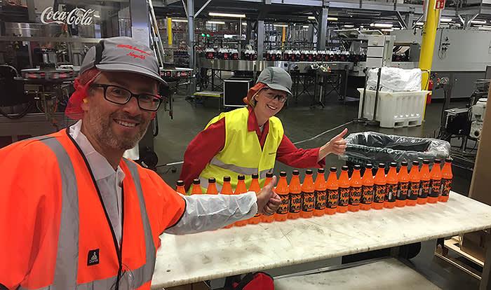 Urge uten sukker: Da Urge på boks ble lansert i KIWI tidligere i år, ga mange uttrykk for at dere også ønsket dere en sukkerfri versjon av den populære norske brusen. Vi formidlet dette videre til produsent Coca-Cola – og nå kommer altså Urge uten sukker i din nærmeste KIWI-butikk!