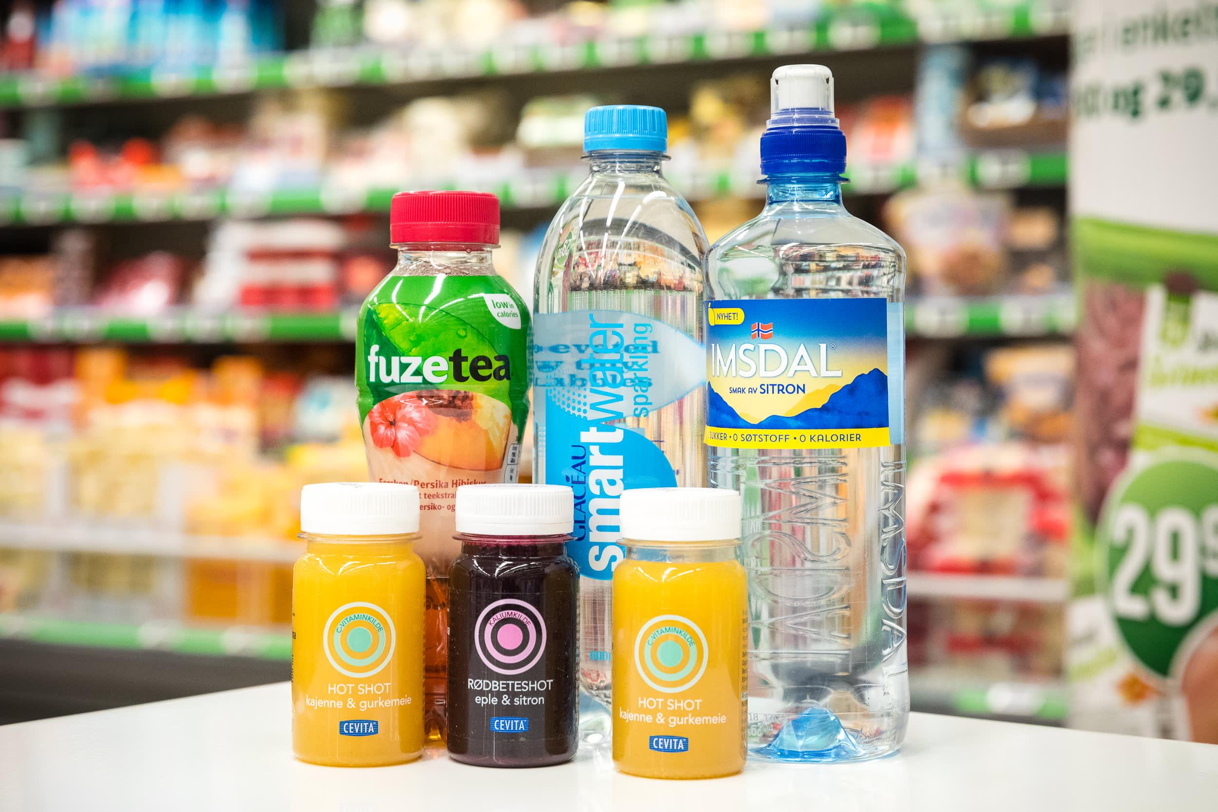 Har du ikke springvann, finnes det flere sunne alternativer du kan velge blant hos KIWI.