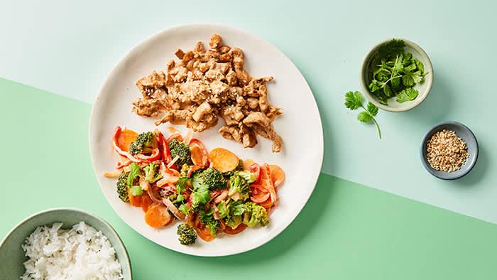 Brokkoli passer ypperlig i en wok.