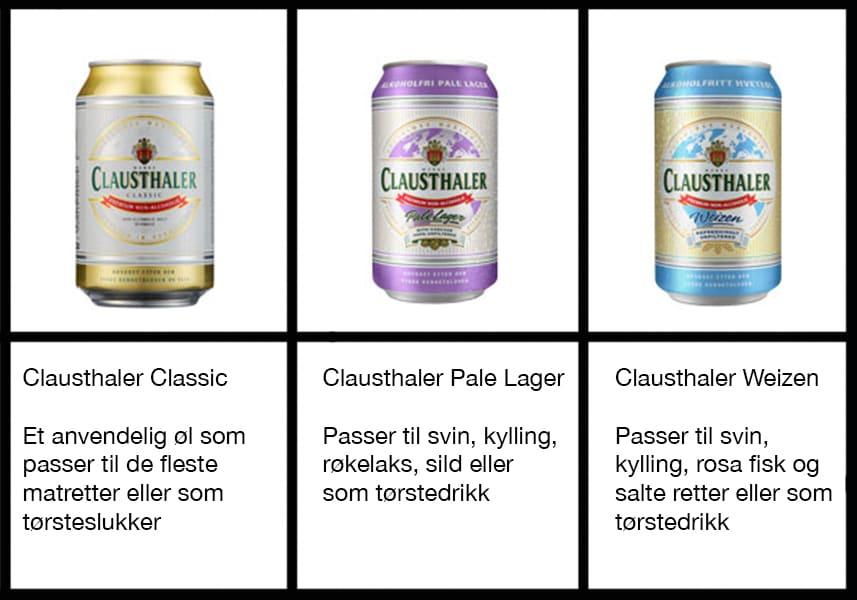 Clausthaler er et godt alkoholfritt øl-alternativ til alle anledninger.
