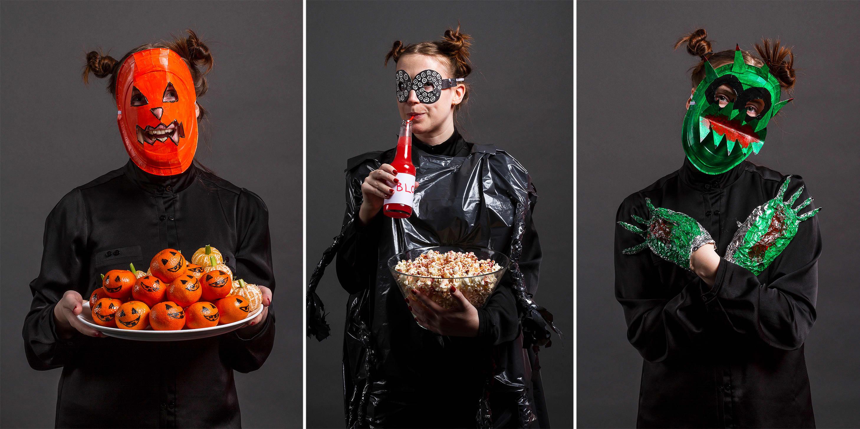 KNASK ELLER KNEP: Kostymer kan man enkelt lage selv.