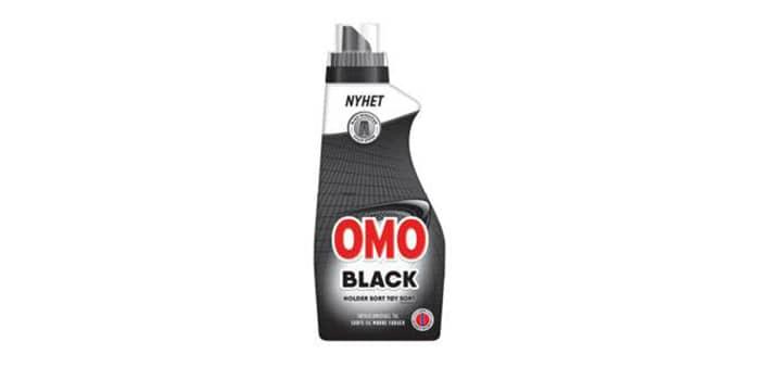 Omo Black: Dette er redningen for deg som vil holde den lille sorte og andre sorte favorittplagg like fine over tid. Endelig et eget vaskemiddel for de aller mørkeste plaggene.