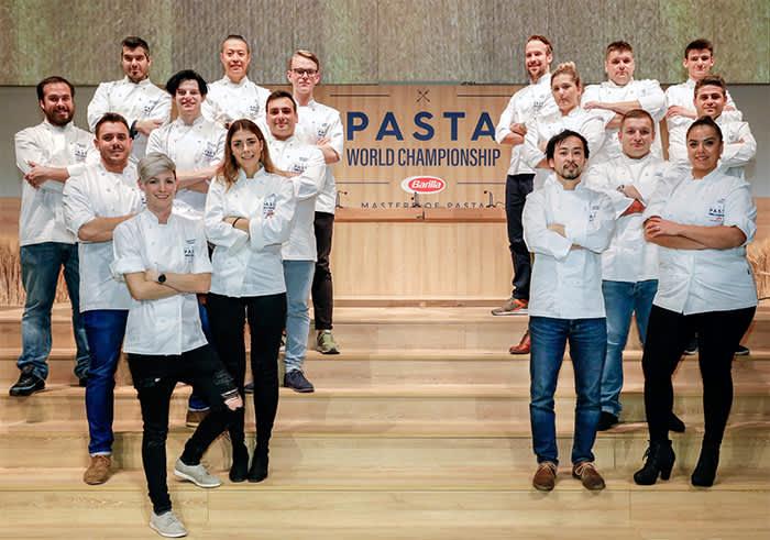 Deltagerne i pasta-VM 2018.