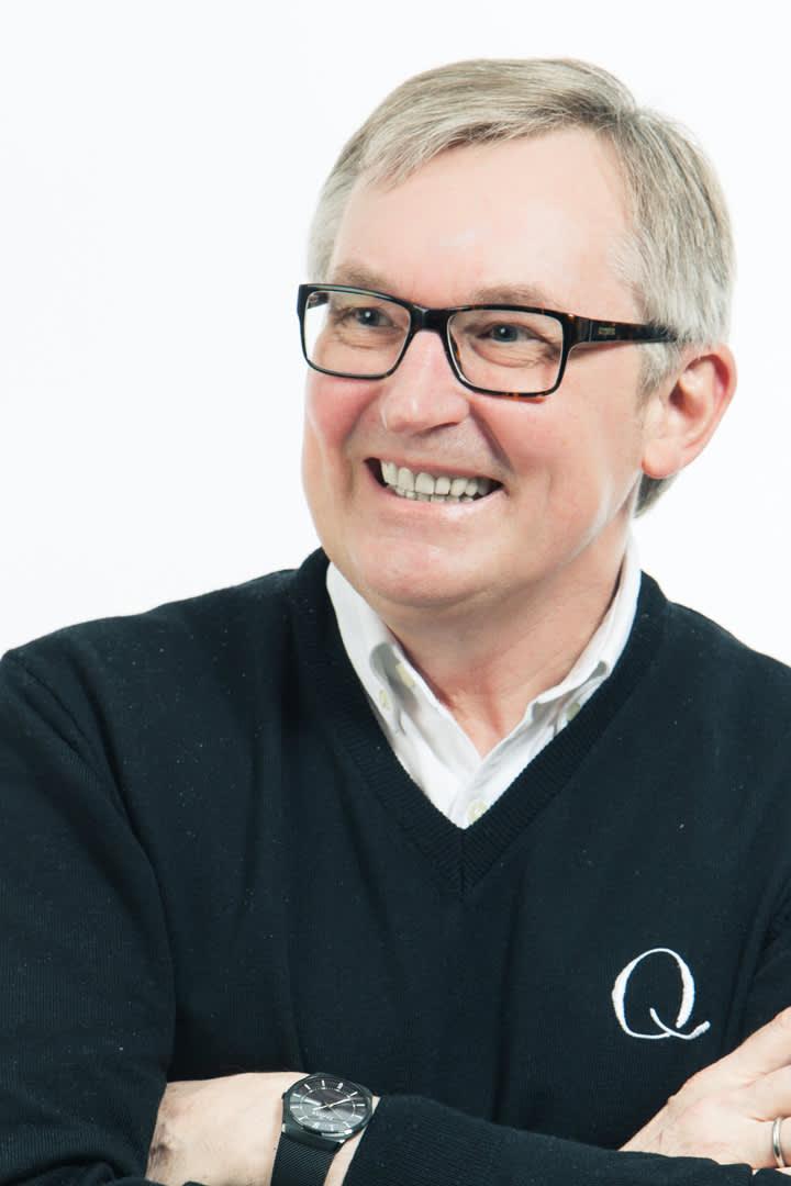 Bent Myrdahl, sjef for Q-meieriene, heier selvfølgelig på et islandsk lag oppfostret på Skyr.