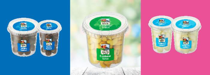 Nøttebeger fra Den lille nøttefabrikken er en stor nyhet for deg som er glad i nøtter av forskjellig slag.
