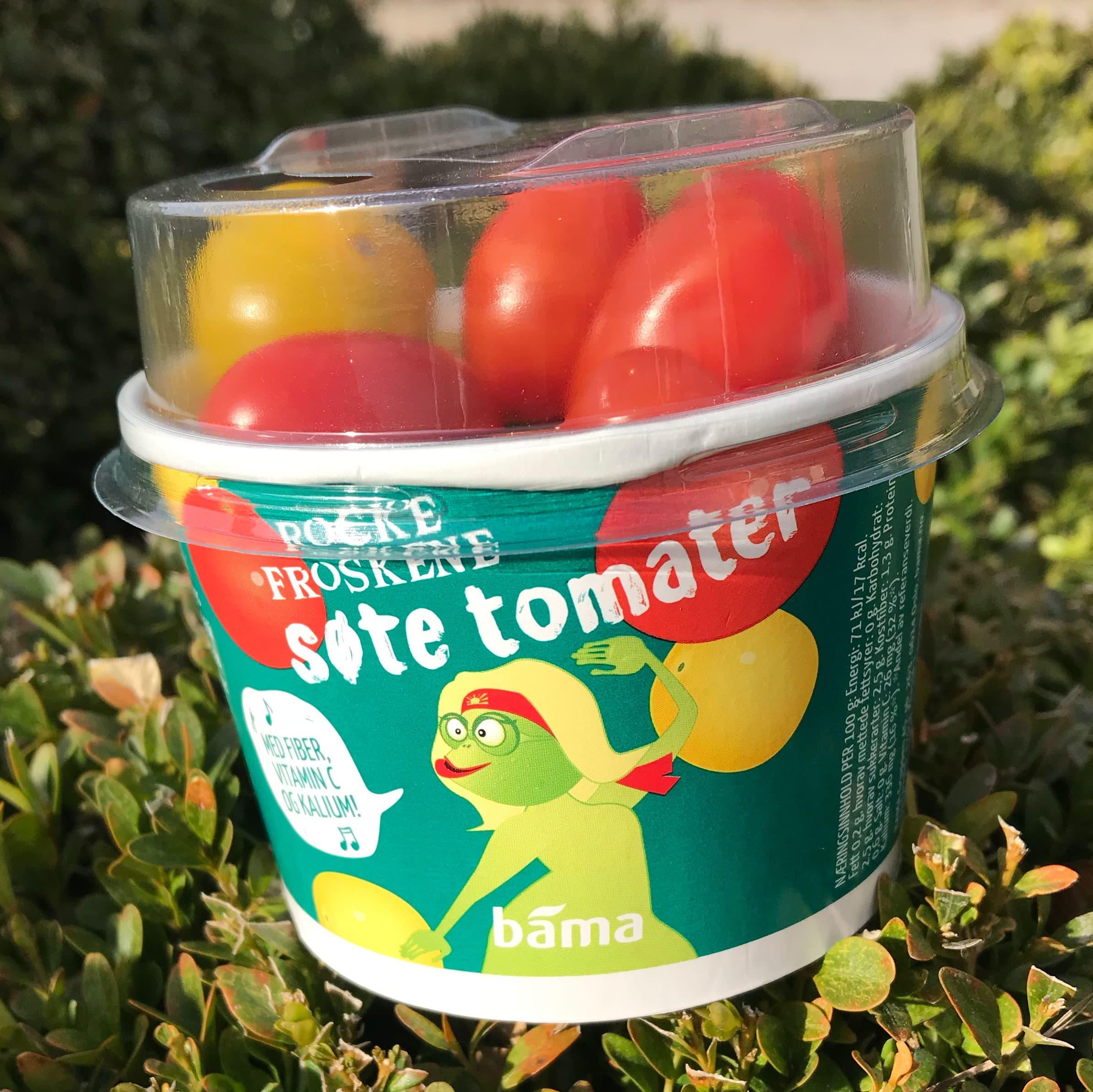 Rockefroskene - søte tomater