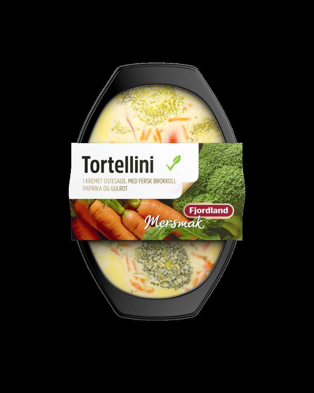 FERDIG: Tortellini med deilig ostesmak trenger kun oppvarming!