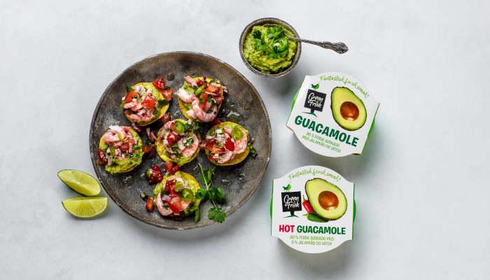 Ferdig guacamole er en kjenning som finnes i alle KIWI-butikker. Nytt av året er Hot guacamole. Den finner du de fleste steder, men ikke i våre minste butikker.