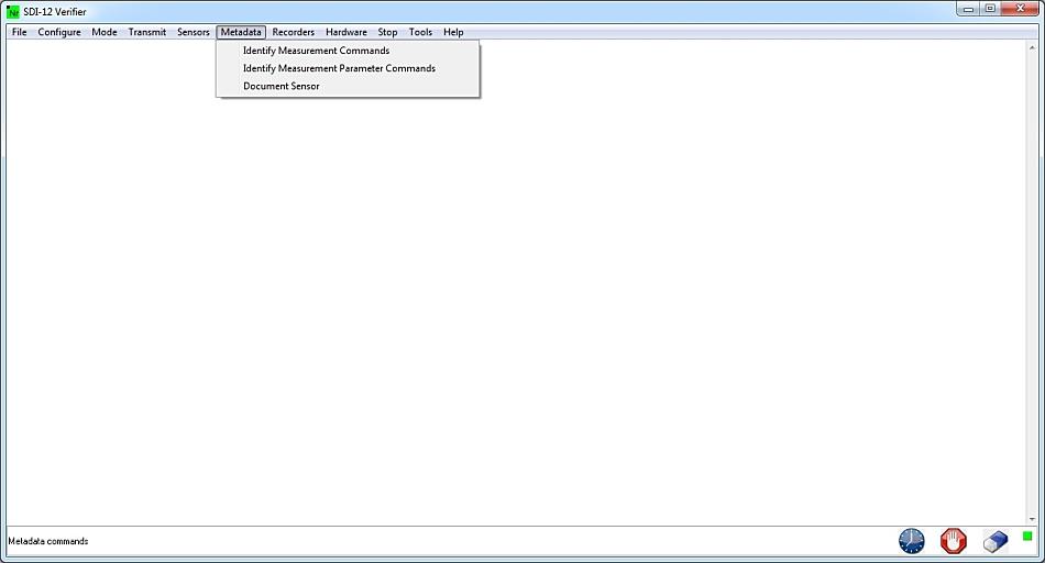 metadata menu