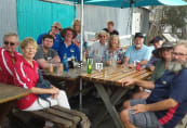 South Coast chapter at lunch at Tuross Heads Boatshed