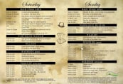 Steampunk Festival Program 2018