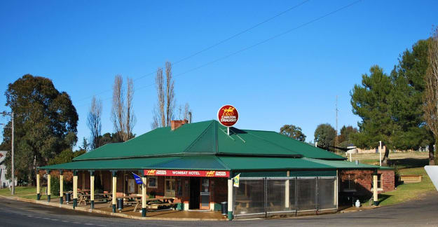 The world famous Wombat Pub
