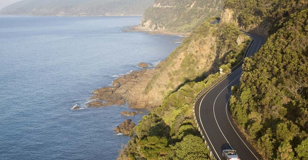 Driving the Great Ocean Road