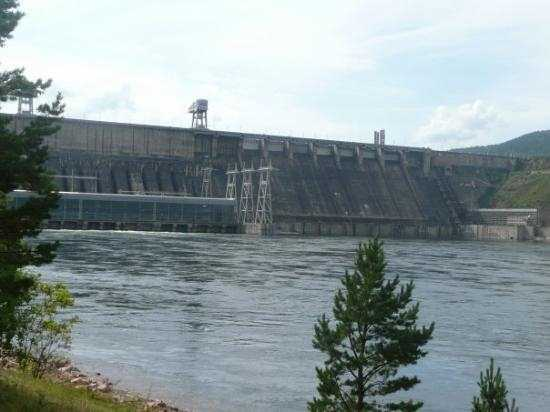 The Krasnoyarsk Dam