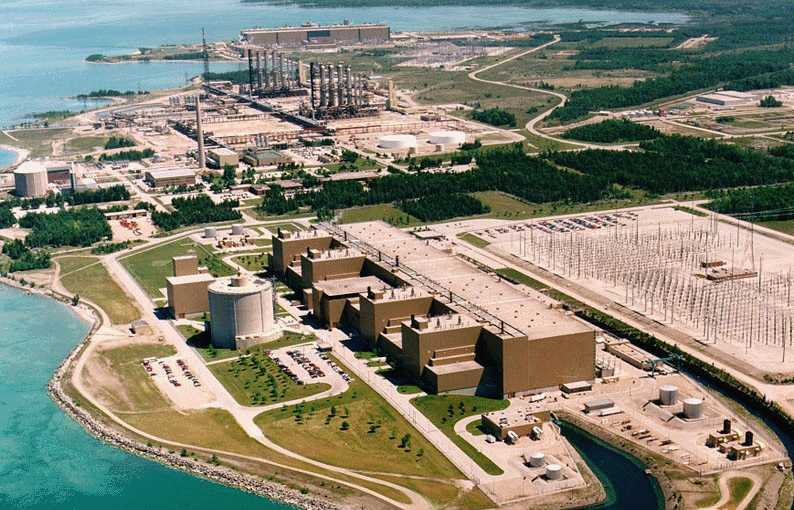 The Bruce Nuclear Generating Station