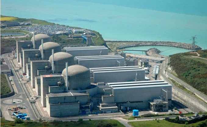 The Paluel Nuclear power station