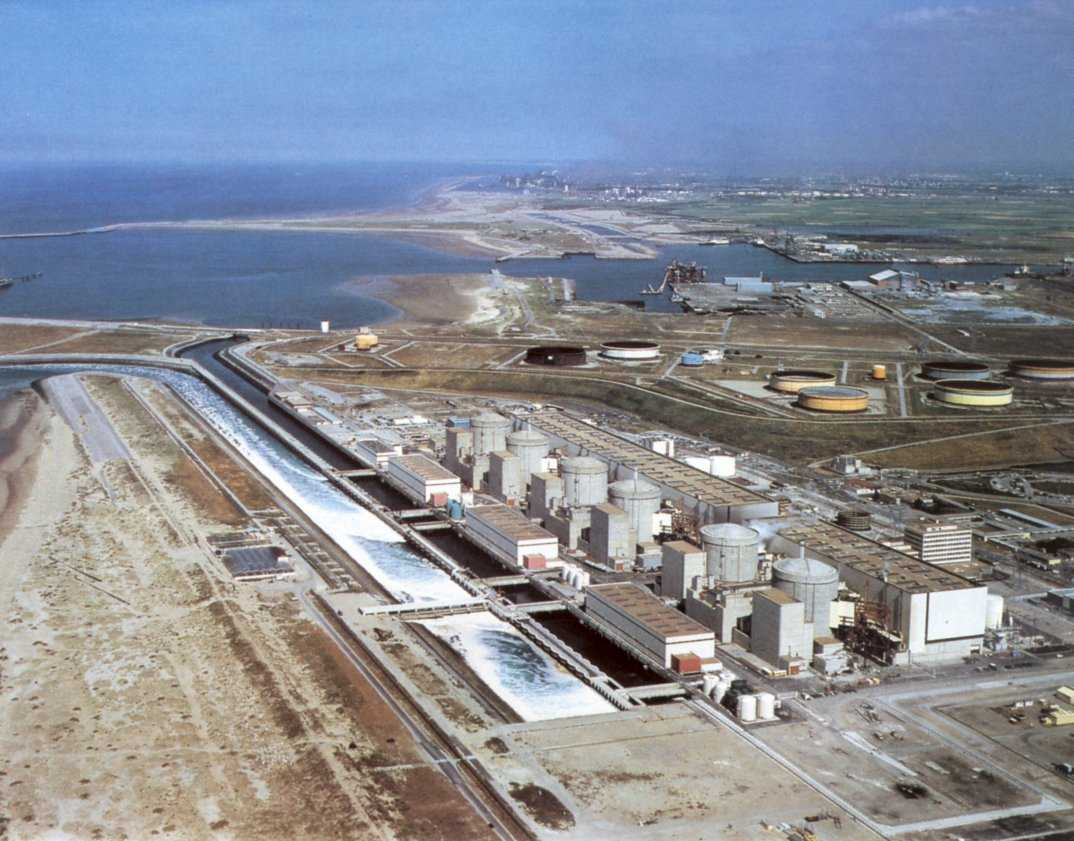 The Gravelines Nuclear Power Station
