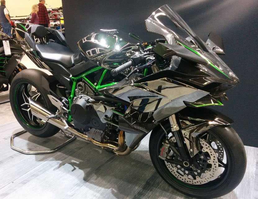 Kawasaki Ninja H2R, (220 miles per hour)