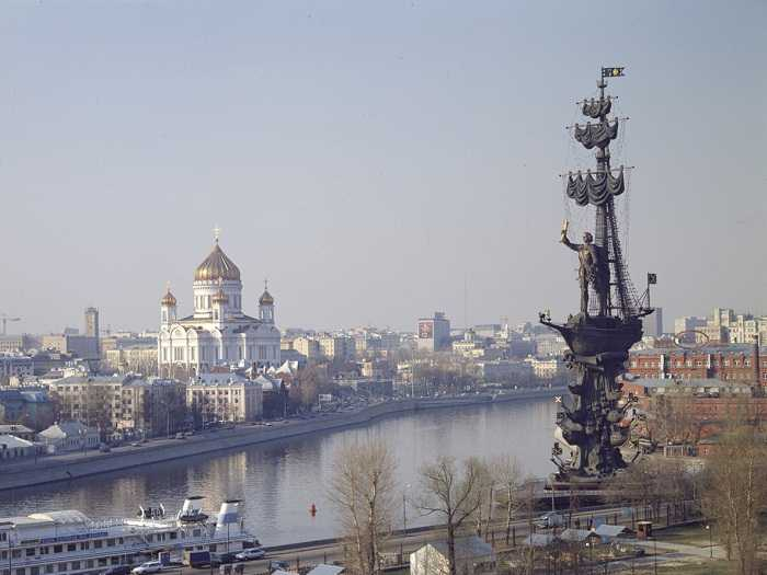 Peter the Great Statue (98 meters)